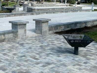 rv pad paver construction