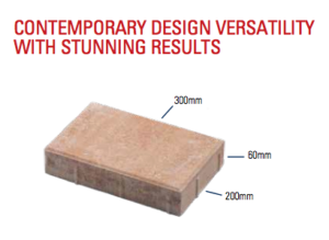 paver specs and sizes