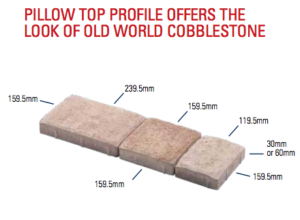 cobblestone paver