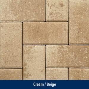 cream-beige paver