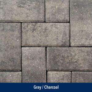 gray-charcoal paver