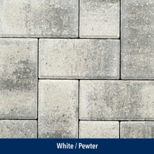 white-pewter paver